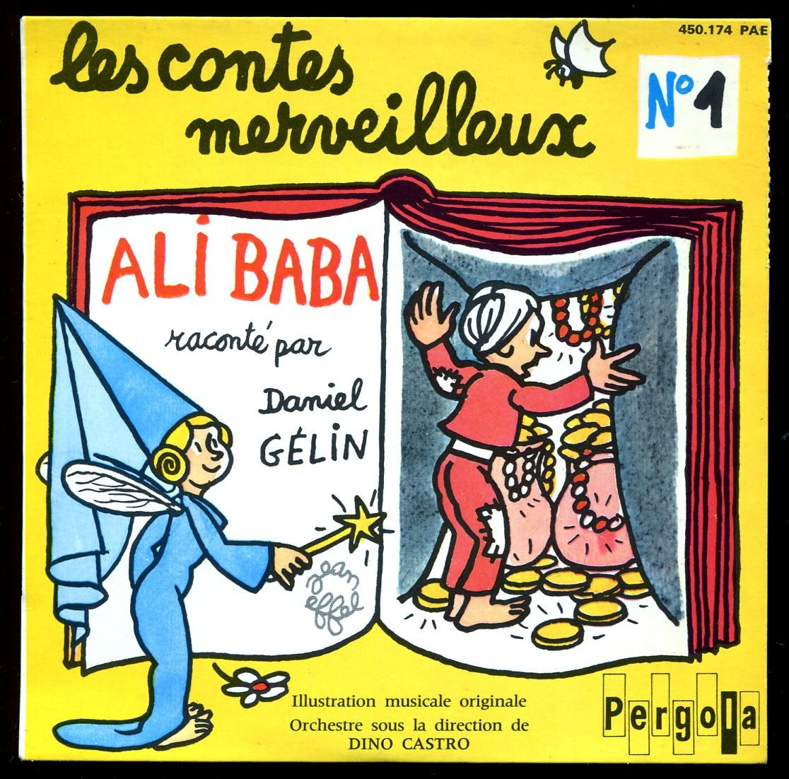 Philips Pergola 450.174 - Ali Baba raconté par Ganiel Gélin ...