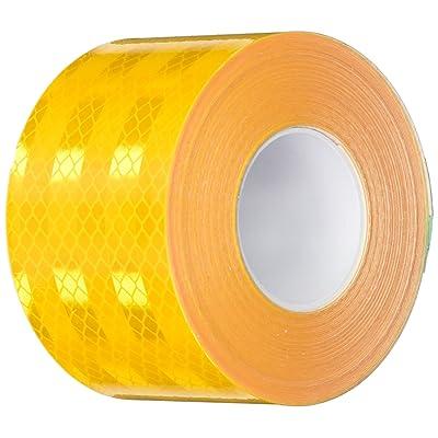 "3M 983-71 2"" X 30FT 983-71 Diamond Grade School Bus Markings, 2"" Wide, 30' Length, Yellow: Industrial & Scientific"