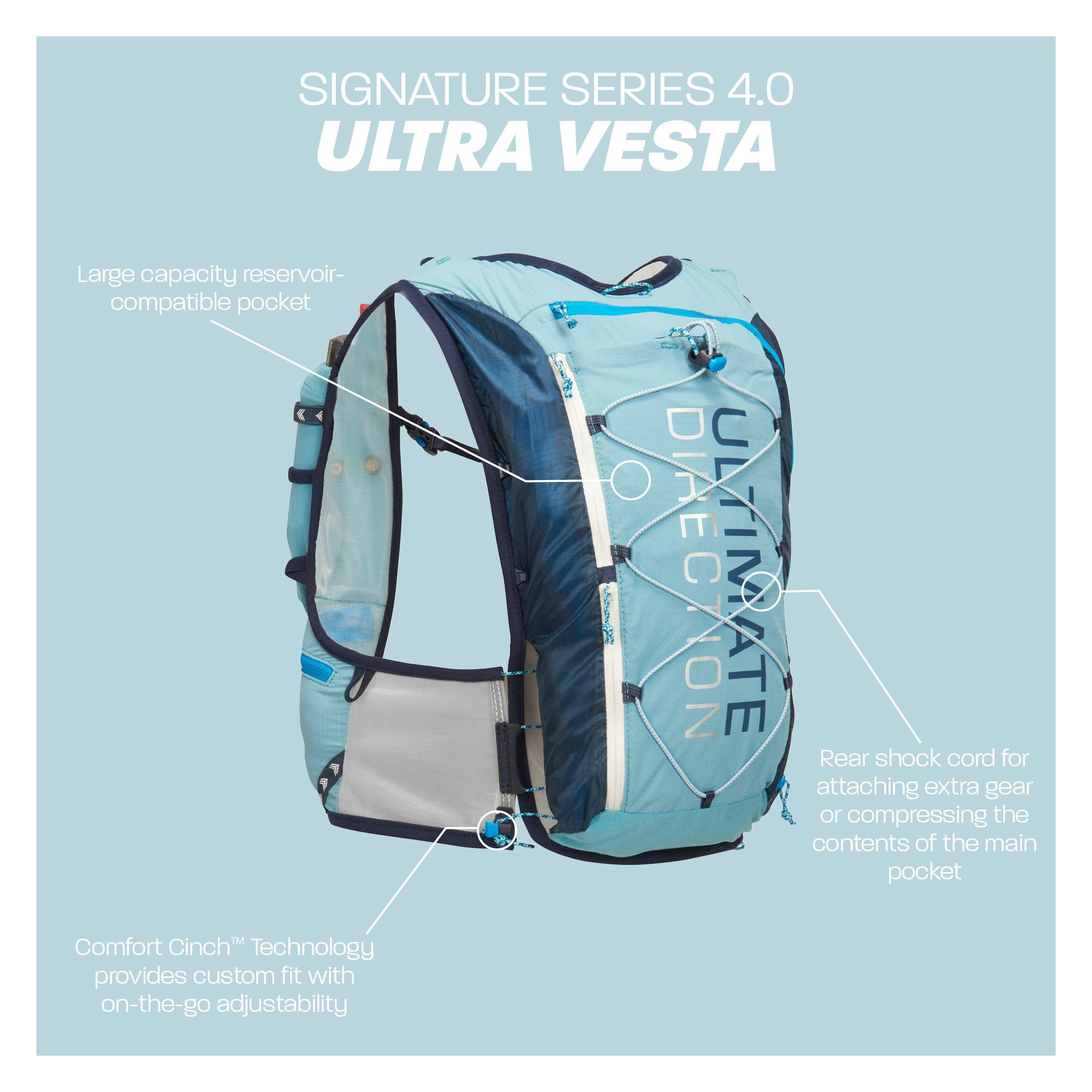 Ultimate Direction Womens Ultra Vesta 4.0, Coral, X-Small/Small by Ultimate Direction (Image #8)