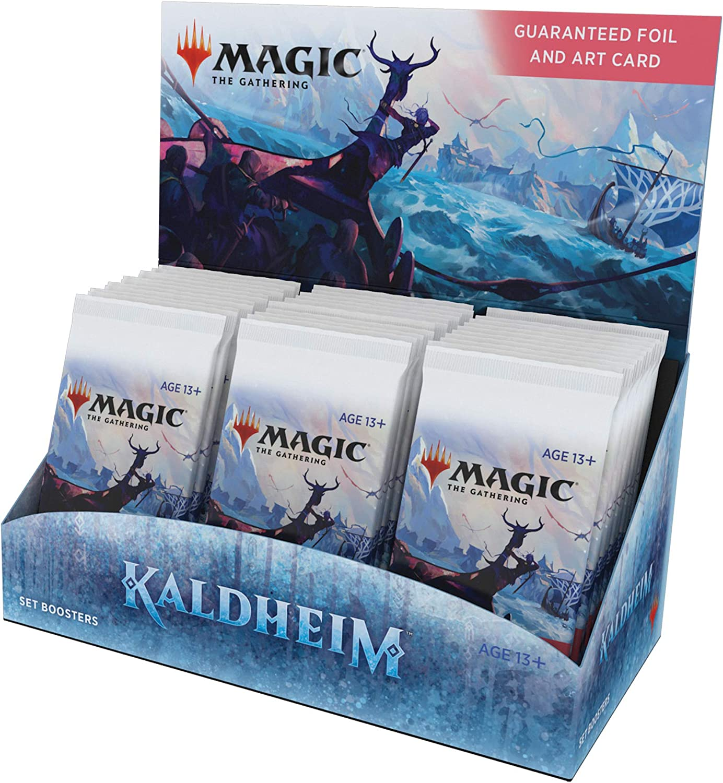 Magic The Gathering Kaldheim Set Booster Box   30 Packs (360 Magic Cards)