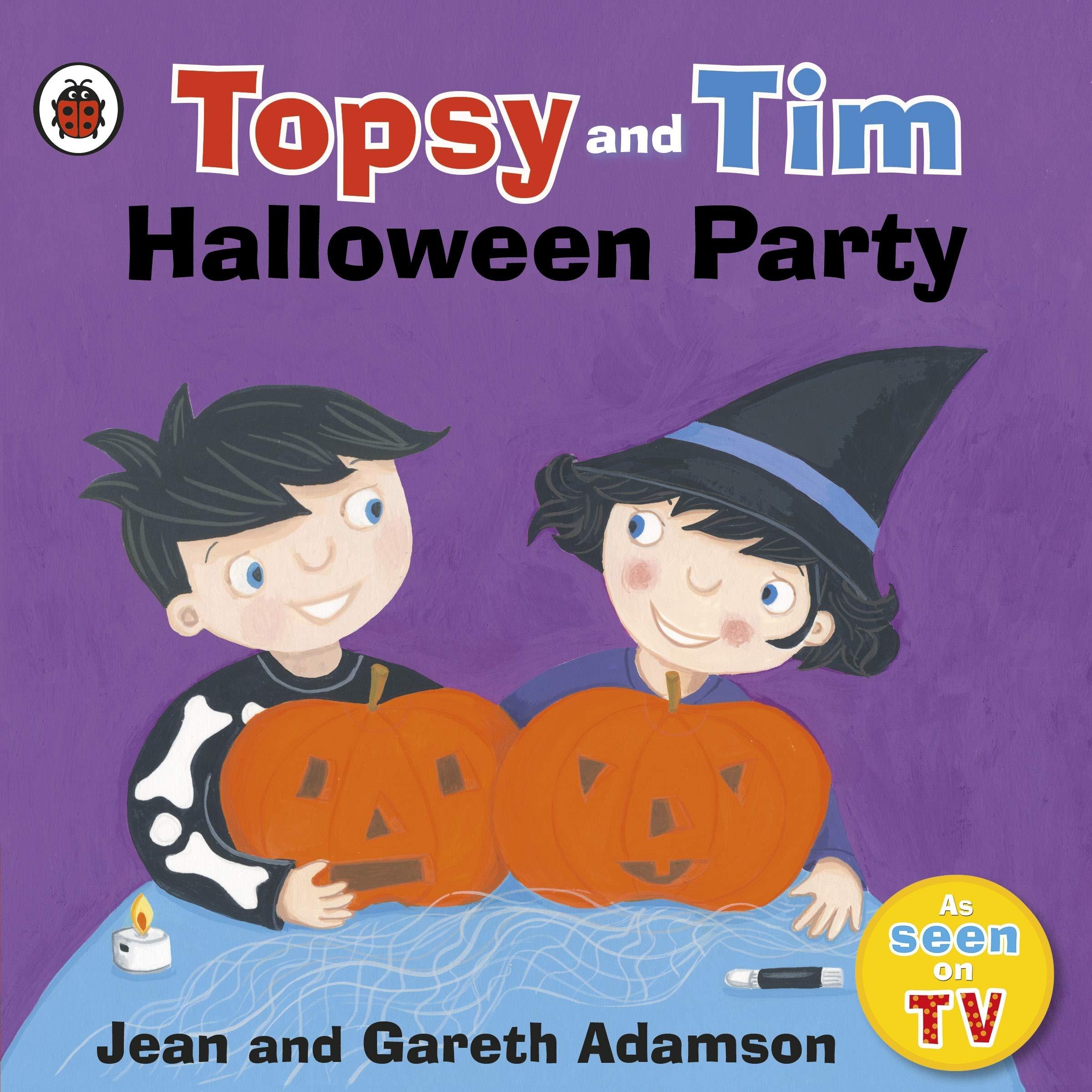 Topsy and Tim: Halloween Party (Topsy & Tim): Amazon.co.uk: Adamson, Jean,  Adamson, Gareth: 9780241386163: Books