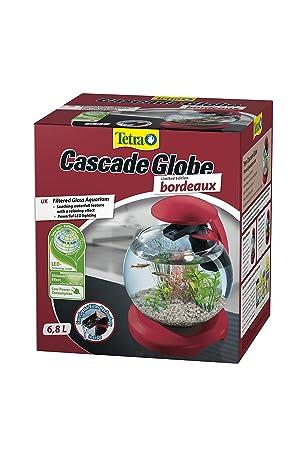 Tetra Cascade - Bola de bordeos de Cristal filtrado LED para Acuario de 6,8 L, para un Efecto Relajante en casa o en el Trabajo: Amazon.es: Productos para ...
