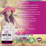 MCT Oil Keto Weight Loss Pills for Women 3000 mg