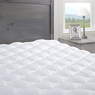 product image for eLuxurySupply Pressure Relief Mattress Pad with Fitted Skirt | Bedsore Prevention Mattress Pads | Hypoallergenic Mattress Topper | Made in The USA, California King