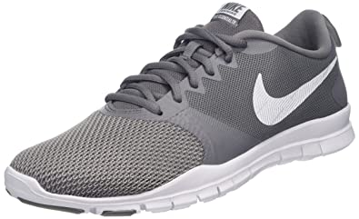c70b972e29d87 Nike Womens Flex Essential Training Shoes (6 M US,  Gunsmoke/White/Atmosphere Grey)