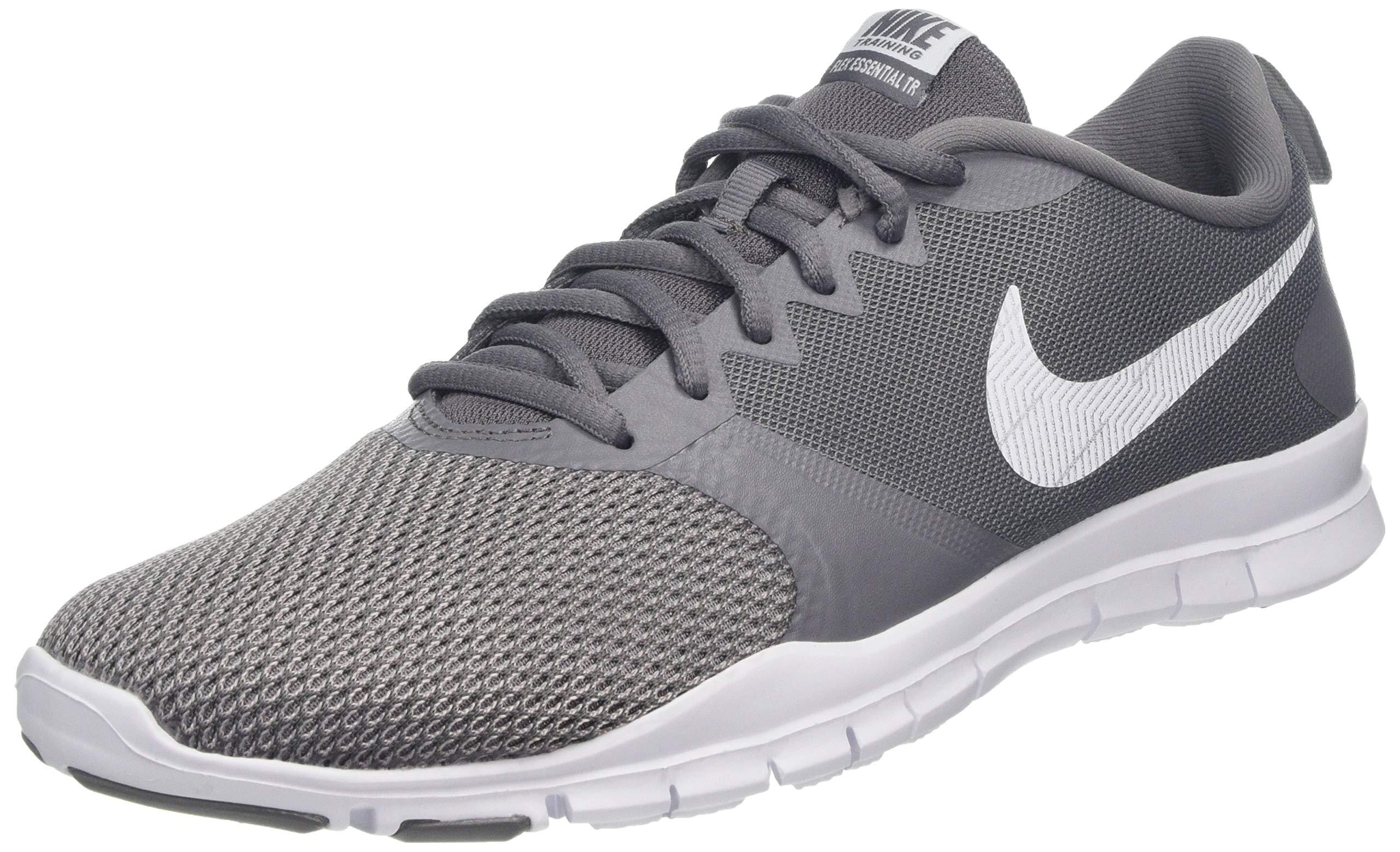 5bd9559797 Galleon - Nike Womens Flex Essential Training Shoes (9 M US,  Gunsmoke/White/Atmosphere Grey)