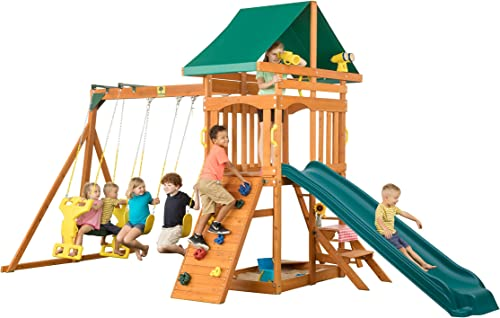 CREATIVE CEDAR DESIGNS Sky View Wooden Playset, One Size
