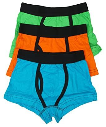 Boys Kids Childrens Boxer Shorts Trunks Briefs Underwear With Keyhole