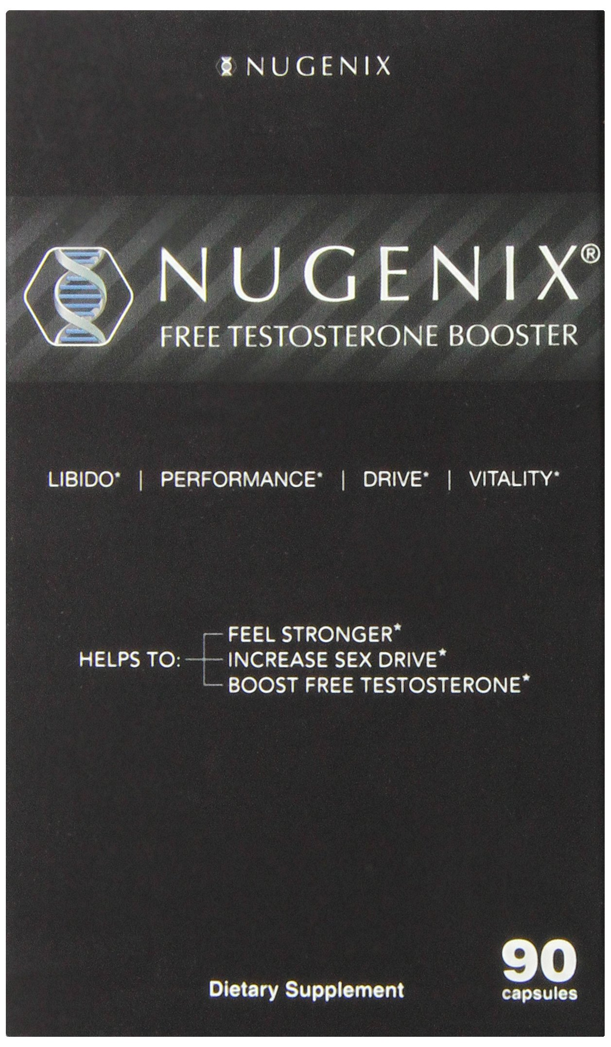 Amazon.com: Nugenix Natural Testosterone Booster Capsules, 90 Count ...