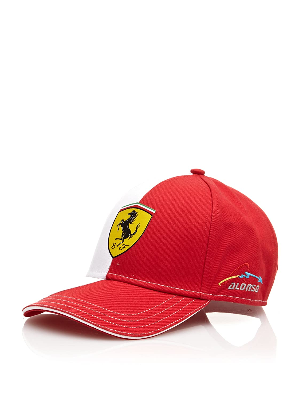 Ferrari Gorra Alonso Logo Rojo Única Gmds World 5100133-600-000 5100133_600-Única