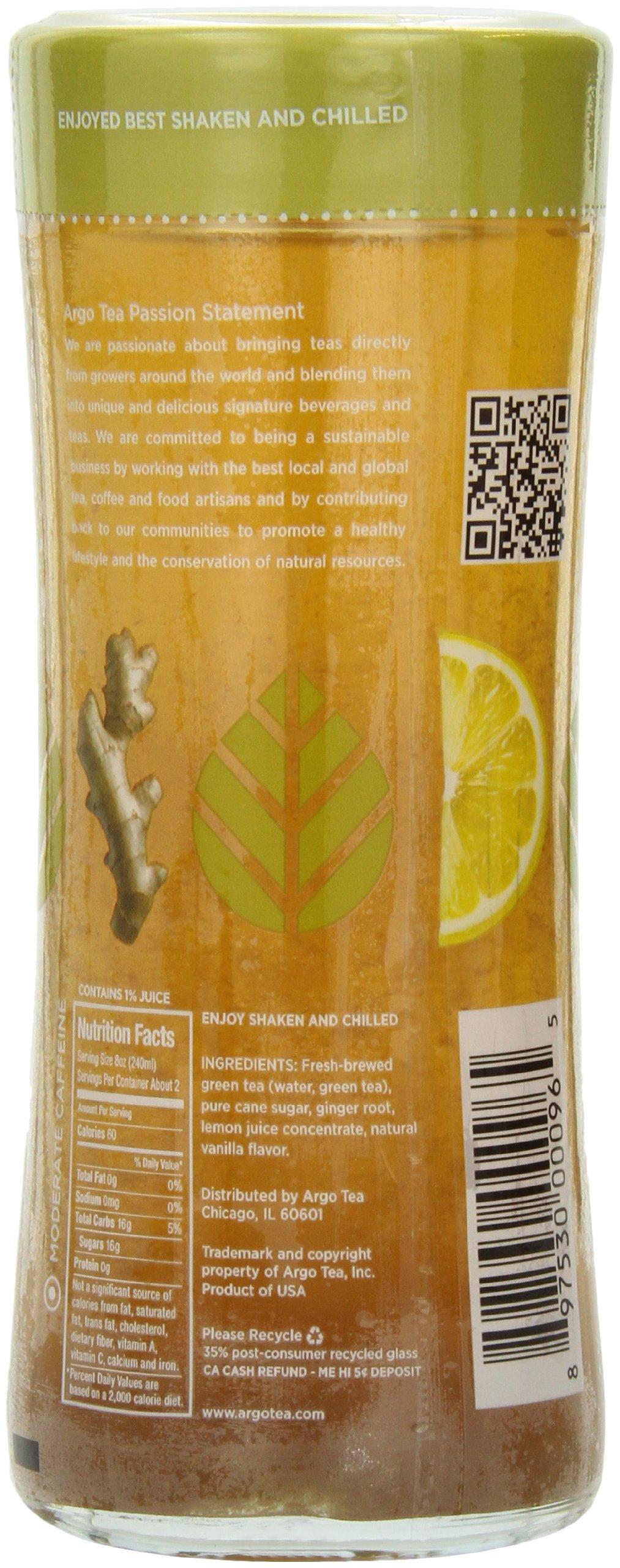 Argo Tea Iced Tea, Green Tea Ginger Twist, 13.5 Ounce (Pack of 12) by Argo Tea (Image #4)