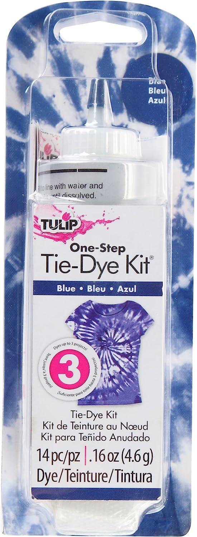 Tulip One-Step Tie-Dye Kit One Color Tie Dye, Blue