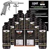 U-POL Raptor Tintable Urethane Spray-On Truck Bed Liner Kit w/ FREE Spray Gun, 8 Liters