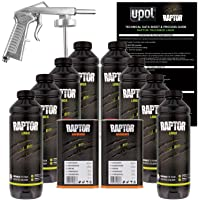 $237 » U-POL Raptor Tintable Urethane Spray-On Truck Bed Liner Kit w/ FREE Spray Gun, 8 Liters