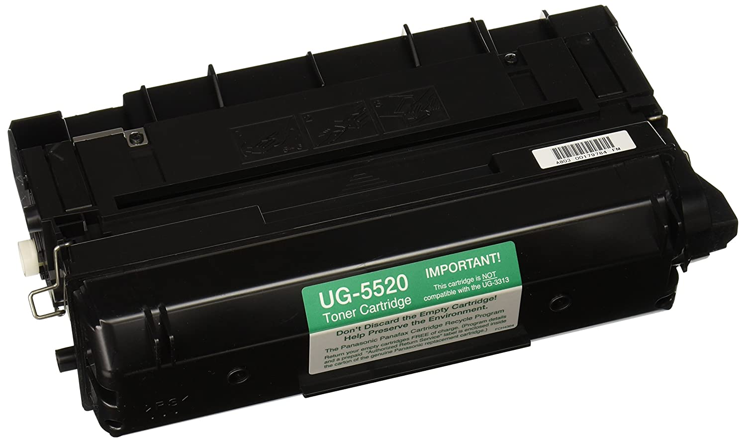 PANASONIC UG5520 Toner/developer/drum cartridge for panasonic fax machine uf890, 990