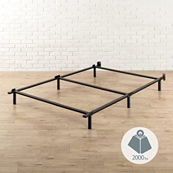 Amazon Com Zinus Paige Compack 7 Inch Heavy Duty Bed Frame For Box