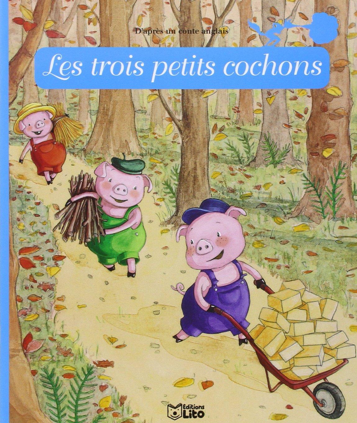 Minicontes classiques : Les trois petits cochons Album – 1 juin 2009 Anne Royer Amandine Wanert Lito 224440580X