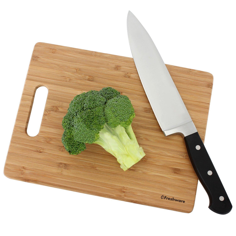 Freshware Bamboo Cutting Board, Set of 3 by Freshware (Image #5)