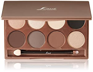 Sorme' Treatment Cosmetics Collection Eyeshadow Palette, Warm Hues
