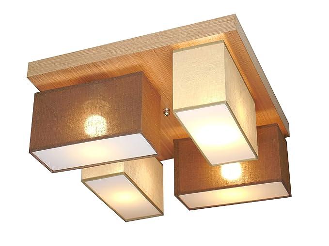 Lámpara de techo - WeRo Diseño de Vitoria 001/N (Beige ...