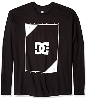 4f02fd16c089 Amazon.com: DC Men's Theory Long Sleeve Tee: Clothing