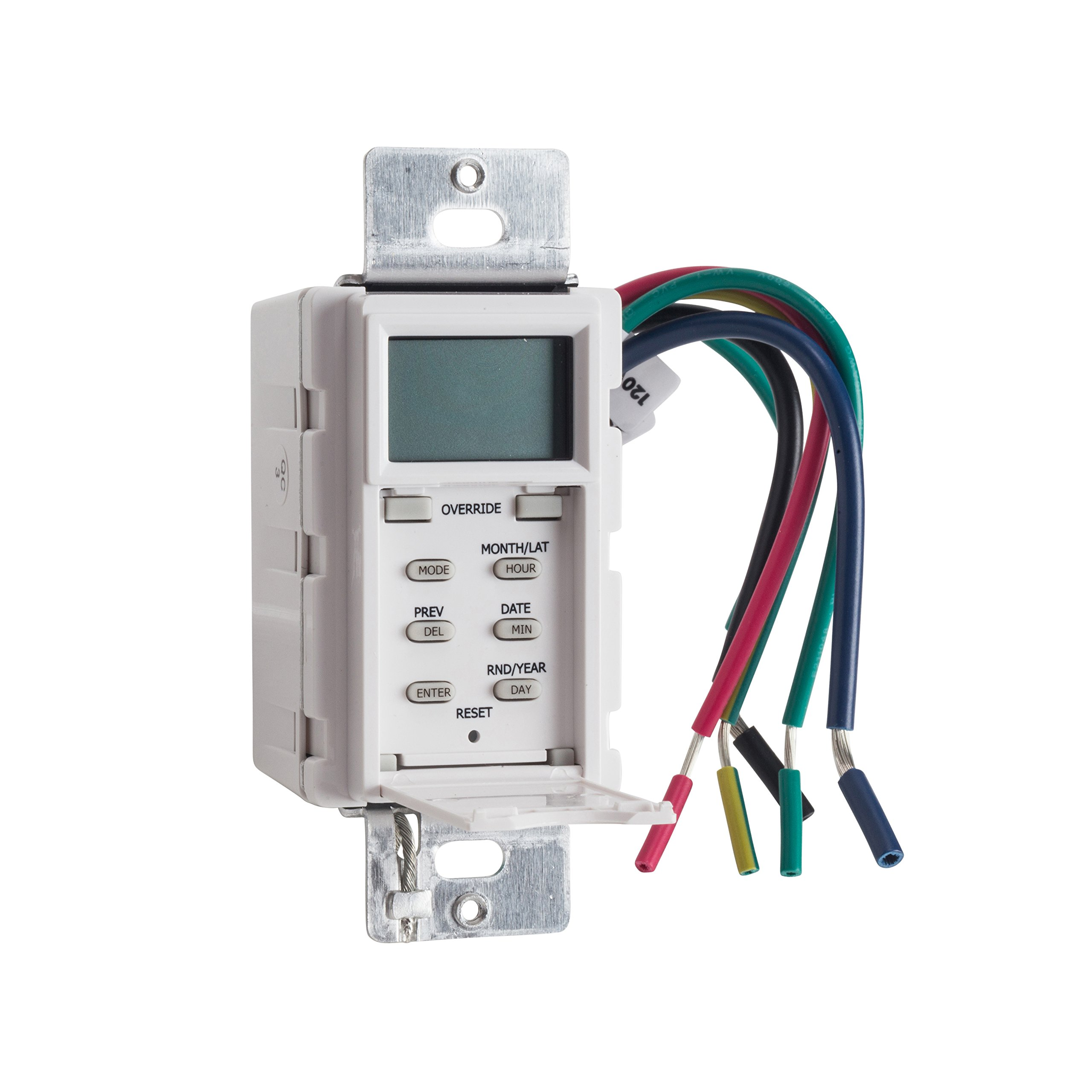 NSi Industries LLC SS703Z 7 Day 120/277V Digital in-Wall Timer by NSI