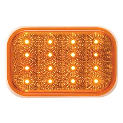 Optronics STL35ABP Amber Lens Miro-Flex Rectangular LED Stop/Turn/Tail Light: Automotive