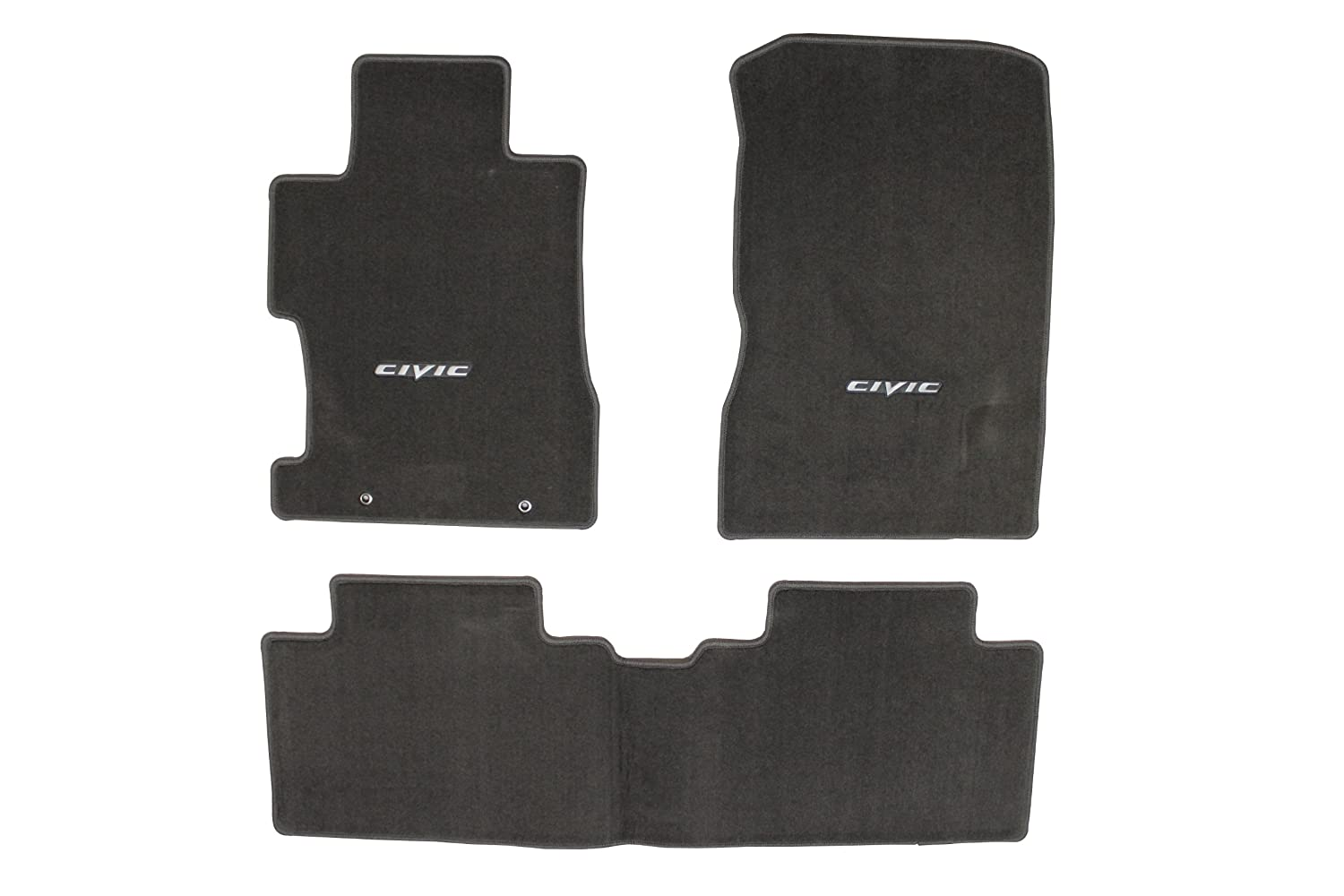 Amazon.com: Genuine Honda Accessories 08P15-SNA-120B Gray Floor Mat for  Select Civic Models: Automotive