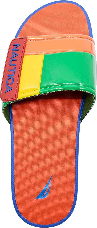 Adjustable Straps Comfort Sandal-Bower Nautica Mens Athletic Slide