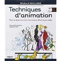 Techniques d'animation: Pour le dessin animé, l'animation 3D et le jeu vidéo. Avec dvd-rom.