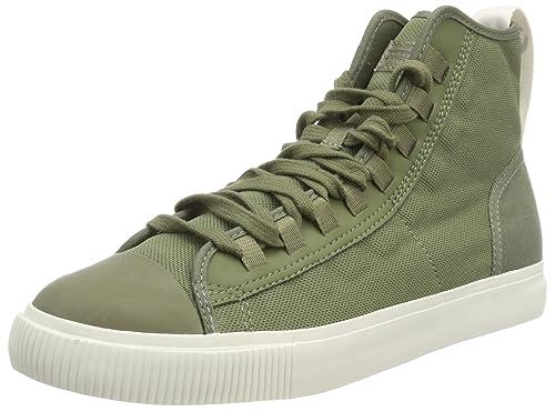 G-Star RAW Scuba Ii Mid, Zapatillas Altas para Hombre, Verde (Sage 724), 43 EU: Amazon.es: Zapatos y complementos