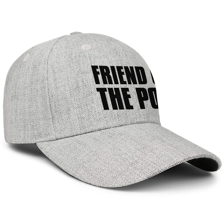 SHUPIA Dont Let The Ponytail Fool YouUnisex BaseballWool Cap Adjustable SnapbackSun Hat