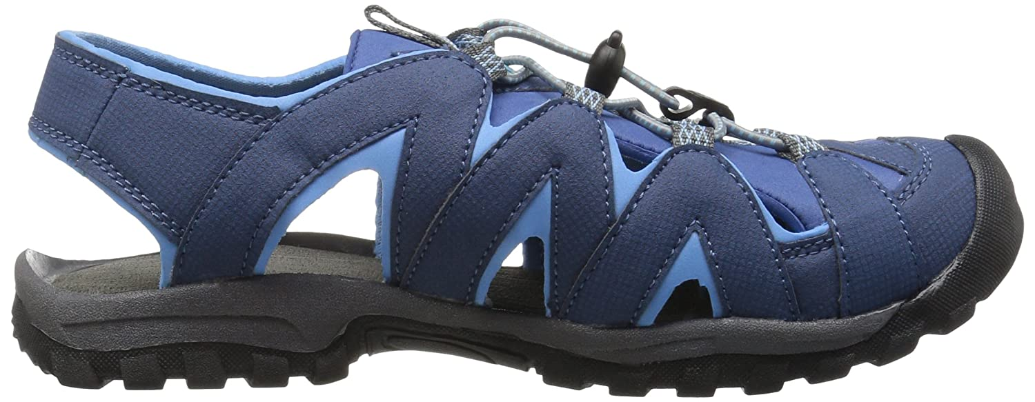 Northside Women's Corona Sandal B01LWJ9L79 6 D US|Navy/Light Blue