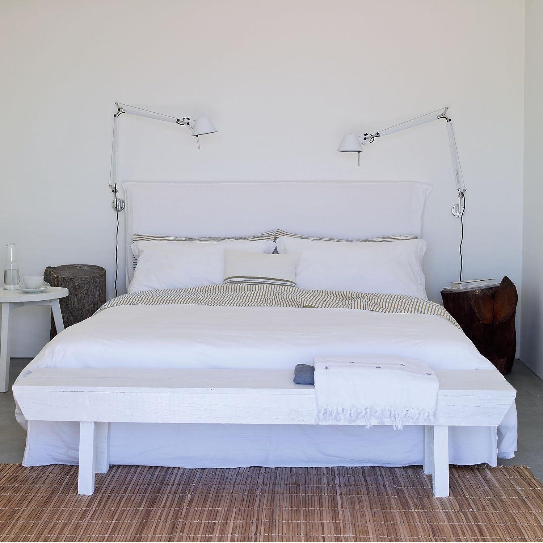 Gervasoni Ghost 80.G - Cama doble con funda (180 x 200 cm ...