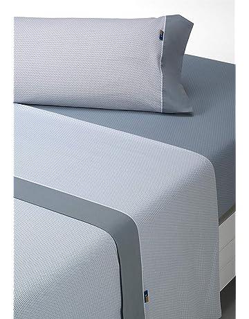 SABANALIA - Juego de sábanas Estampadas Mota (Disponible en Varios tamaños y Colores),