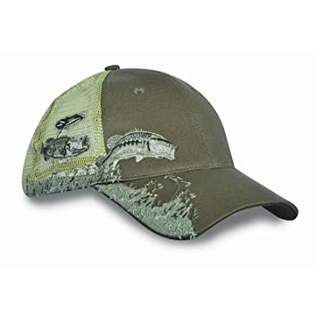 fitted hunting baseball caps coon bow hats kc unisex cap bass embroidery hat air mesh back