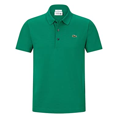 c49337745defda Lacoste YH4801 Herren Poloshirt L1230 SF in Slim Fit, Polohemd, Polo,  Kurzarm aus