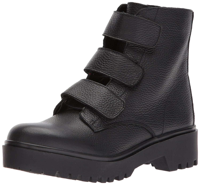 Steve Madden Women's Wayne Fashion Boot B074PJNMDD 5.5 B(M) US Black Leather