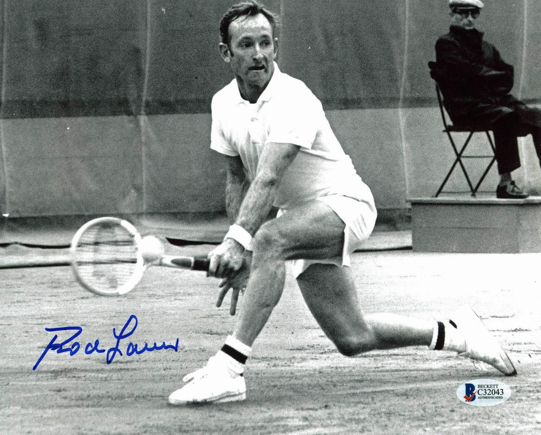 5f05e6e6717a05 Rod Laver Tennis Authentic Autographed Signed 8x10 Photo Autographed Signed  Bas  C32043 at Amazon s Sports Collectibles Store