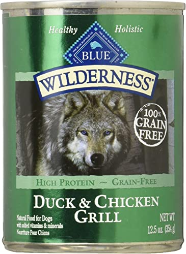 Blue Buffalo Wilderness Duck Chicken Grill 12 X 12.5oz