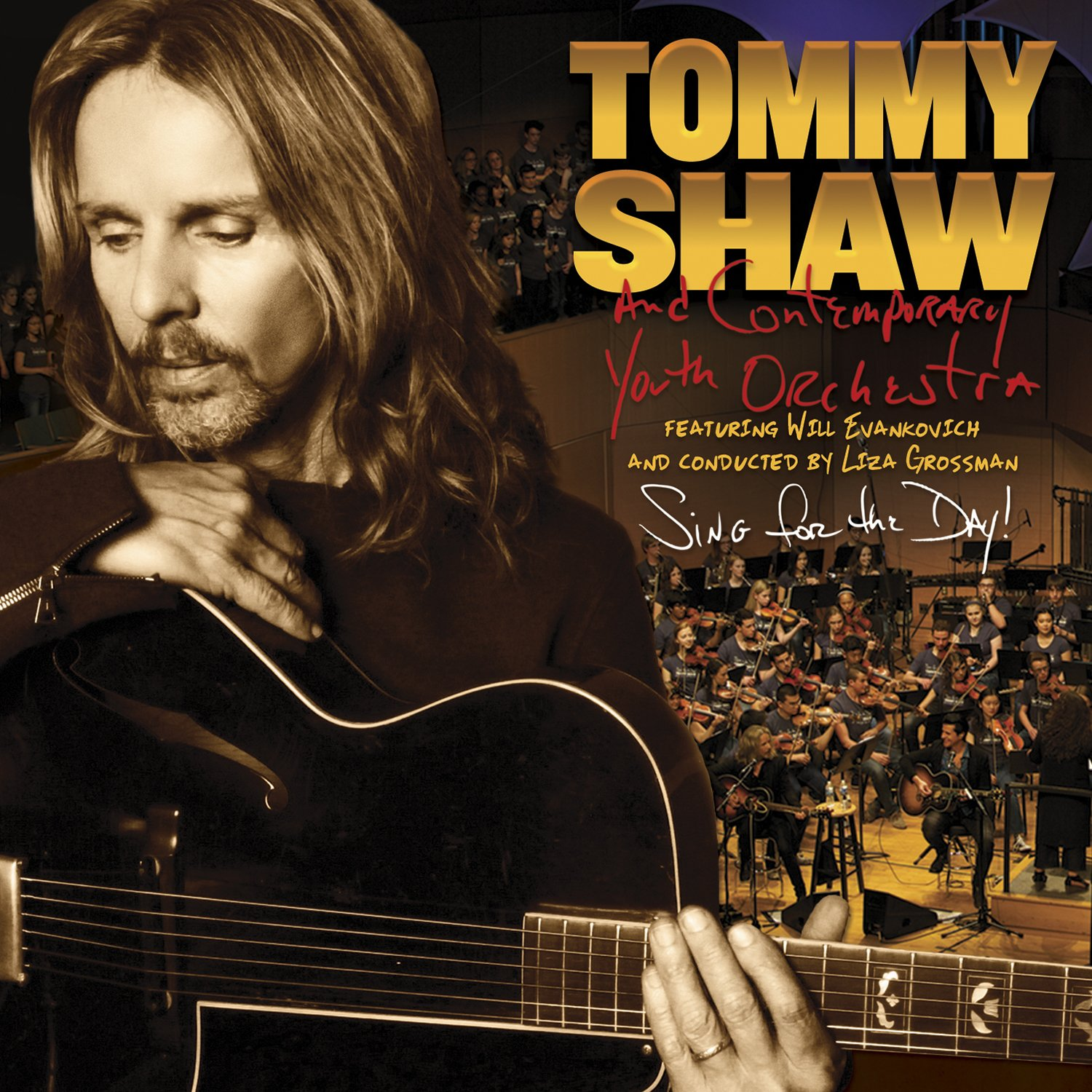 CD : Tommy Shaw - Sing For The Day! (CD)