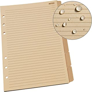 """product image for Rite in the Rain Weatherproof Generic Planner Tab Set, 5"""" x 7"""", Tan Sheets (No. 9271)"""