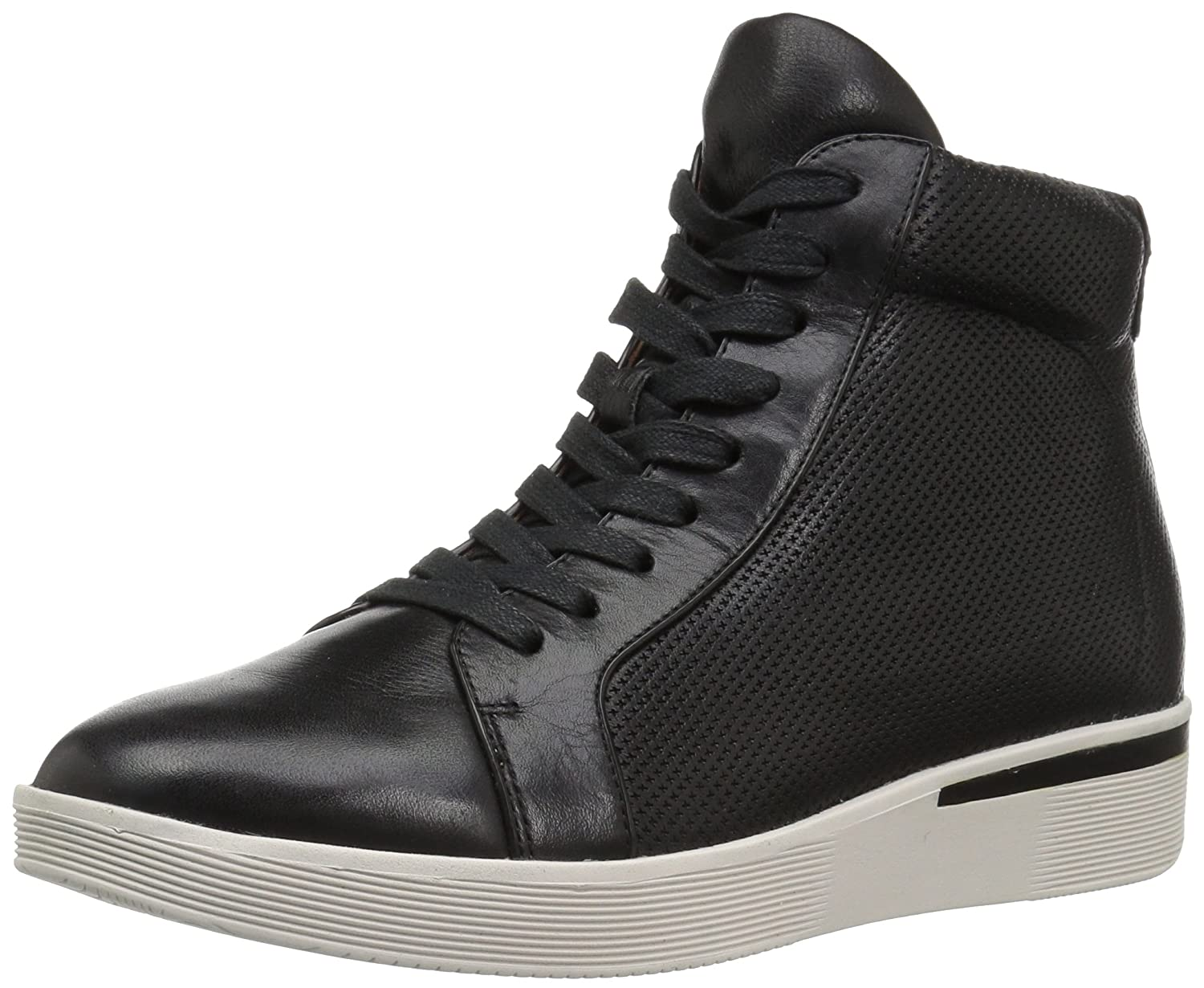 Gentle Souls Women's Helka Hightop Lace-up Sneaker B06XBGVP8X 7 B(M) US|Black