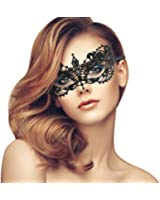 duoduodesign Exquisite High-end Lace Masquerade Mask (Black/Venetian/Soft version)