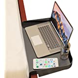 Bedside Shelf for Bunk Beds, Lofts & Bed Frames - Heavy Duty Storage Table and Tray Fits Laptops, Book & Drinks - Great…