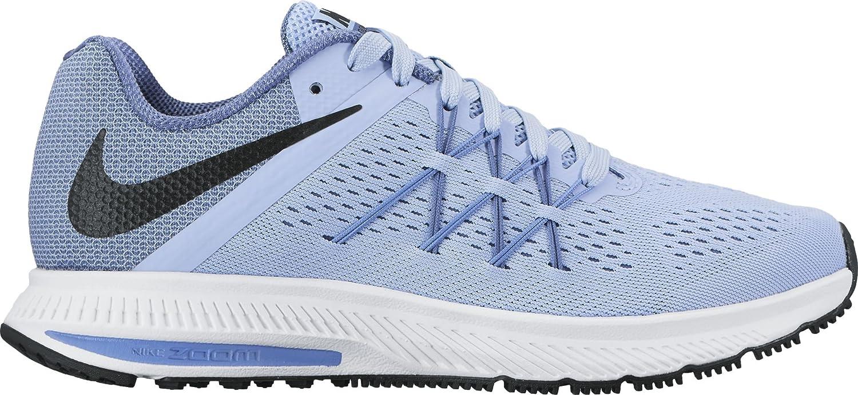 Nike New Mujeres Zoom Aluminio Zapato Winflo 3 Running Zapato Aluminio 089b32