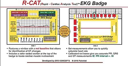 R-Cat EKG Badge