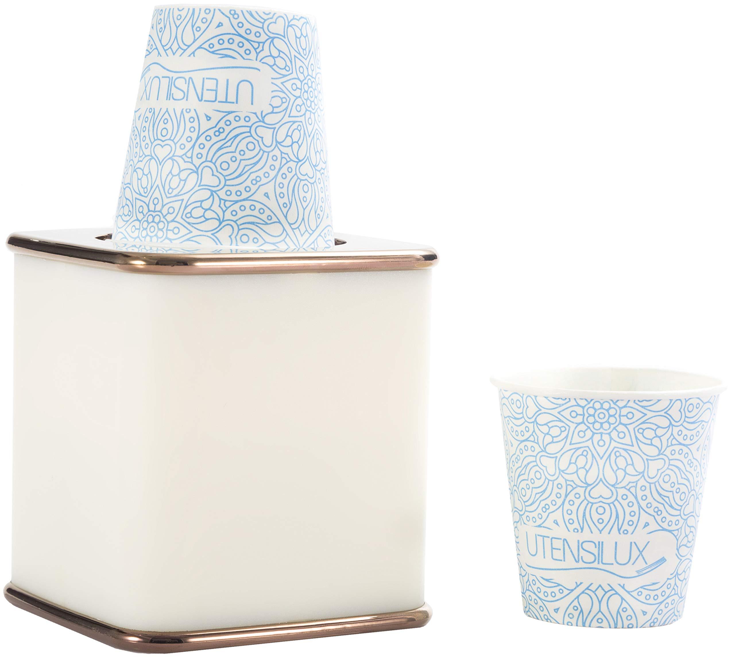 Amazon.com: Utensilux Bathroom Cup Holder, 3 oz and 5 oz ...