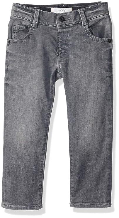 Gymboree Kids' Big Skinny Jeans, Gray, 3T best toddler jeans