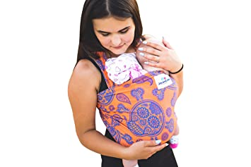 Baby Wrap Sling Bamboo Stretchy Wrap Carrier Uk Eu Safety Tested